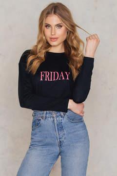 NA-KD Na Kd Friday Long Sleeve Top