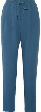 Eberjey Silvana Cotton-gauze Pajama Pants - Petrol