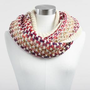 World Market Multicolor Infinity Scarf