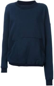 A.F.Vandevorst panelled sweatshirt