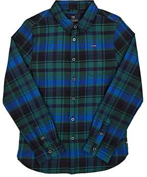Scotch Shrunk Plaid Cotton Flannel Shirt