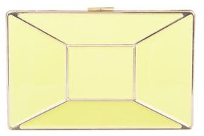 Kate Spade Faceted Gem Clutch - YELLOW - STYLE