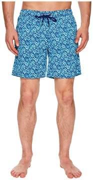 Mr.Swim Mr. Swim Floral Printed Dale Swim Trunks Men's Swimwear