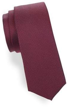 Lord & Taylor Boy's Heathered Silk Tie