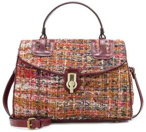 Patricia Nash Boucle Tapestry Collection Stintino Satchel