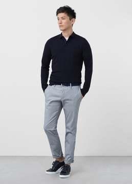 Mango Outlet Long sleeves wool polo