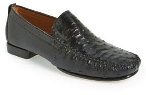 Mezlan Men's 'Rollini' Ostrich Leather Loafer