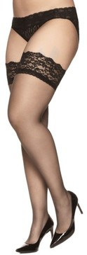 Berkshire Plus Size Women's Stay-Up Stockings