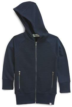 Sovereign Code Boys' Ribbed Zip-Up Hoodie - Little Kid