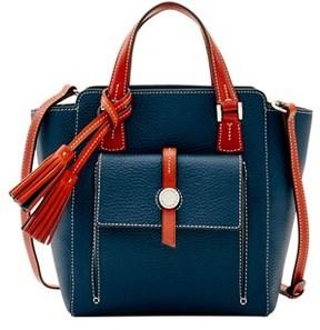 Dooney & Bourke Cambridge Mini Shopper Tote. - MIDNIGHT BLUE - STYLE