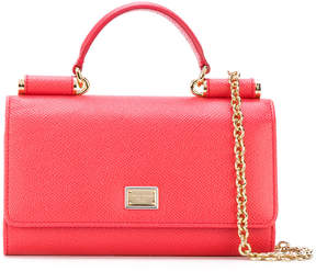 Dolce & Gabbana mini Von shoulder bag - PINK & PURPLE - STYLE