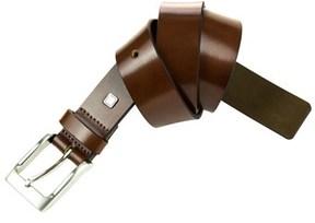 Steve Madden 35mm Burnished Leather Belt.