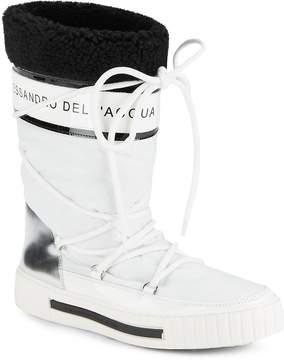 Alessandro Dell'Acqua Alessandro DellAcqua Women's Faux Fur-Trimmed Boots