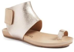 Pedro Garcia Women's Metallic Ankle Cuff Sandal