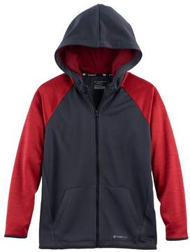 Tek Gear Boys 8-20 WarmTEK Full-Zip Fleece Hoodie