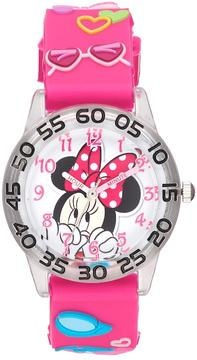 Disney Disney's Minnie Mouse Girls' Time Teacher Watch