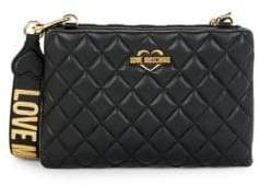Love Moschino Diamond Quilted Crossbody Bag