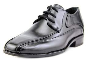 Stacy Adams Peyton Youth Bicycle Toe Leather Black Oxford.