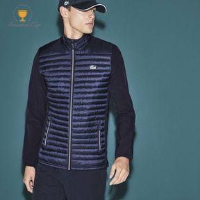 Lacoste Men's Sport Golf Water-resistant Quilted Zip Jacket