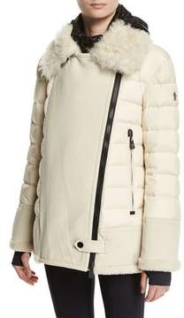 Moncler Montblanc Quilted Puffer Jacket, Ivory