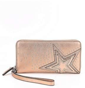 Vince Camuto Taz Metallic Wallet
