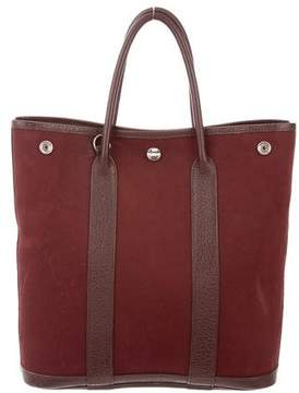 Hermes Tall Garden Party MM - BROWN - STYLE