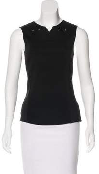Esteban Cortazar Knit Sleeveless Top