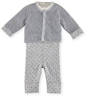 Petit Bateau Stars & Stripes Layette Set, Size 1-18 Months