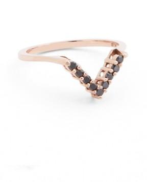 Black Diamond Women's Anna Sheffield Chevron Ring