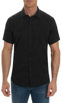 Robert Graham Short-Sleeve Paisley Button Down Shirt
