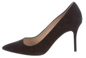 J.Crew J. Crew Suede Pointed-Toe Pumps