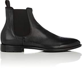 Barneys New York Men's Washed Leather Chelsea Boots