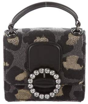 Marc by Marc Jacobs Leather-Trimmed Camouflage Crossbody Bag