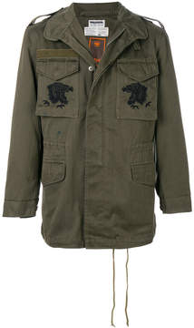 MHI embroidered military jacket