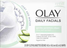 Olay 4-In-1 Daily Facial Cloths 33 Ct