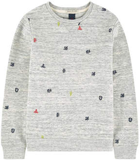 Scotch & Soda Embroidered sweatshirt