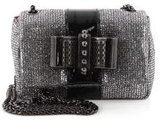 Christian Louboutin Pre-owned: Sweet Charity Crossbody Bag Glitter Leather Mini.