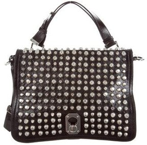 Stuart Weitzman Studded Leather Bag