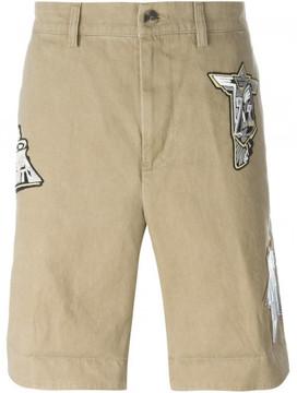 Loewe patched bermuda shorts