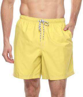 Croft & Barrow Big & Tall Solid Swim Trunks