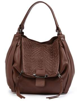 Kooba Jonnie Woven Leather Tote Bag