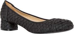 Max Studio ape : textured block-heel pumps