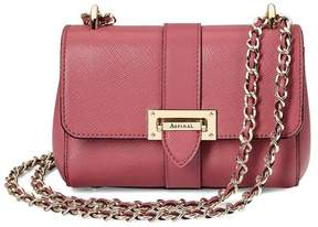 Aspinal of London Micro Lottie Bag In Blusher Saffiano