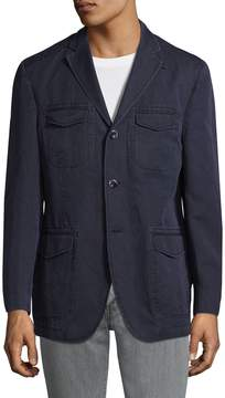 Kroon Men's Unlined Notch Lapel Jacket