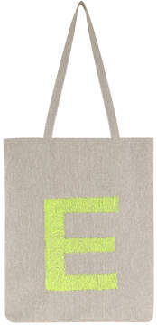Neon Letter Fold Up Shopper