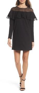 Chelsea28 Women's Lace Yoke Shift Dress