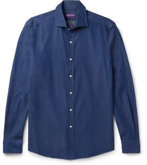 Ralph Lauren Purple Label Slim-Fit Cotton-Twill Shirt