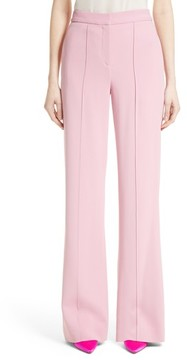 ADAM by Adam Lippes Women's Stretch Cady Wide Leg Trousers