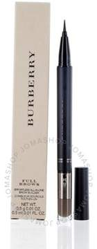 Burberry Full Brows Duo Pen Liner&powder Wax Shadow Ash Brown 0.01 oz (5 ml)