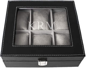 Asstd National Brand Personalized Faux-Leather Watch Box